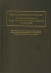Sexual Orientation and the Law: A Research Bibliography Selectively Annotating Legal Literature Through 2005